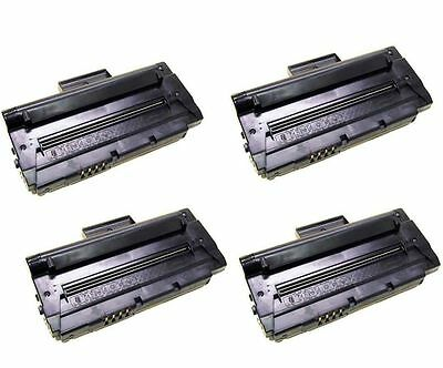 Non-Oem 4 Pk Toner Cartridge For Samsung Mlt-D109S Laser Printer Scx-4300 109S