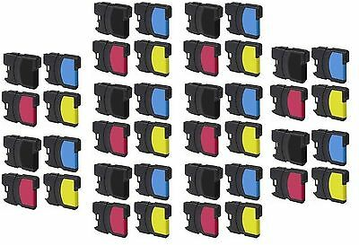 Non-Oem 40 Pk Brother Lc-61 Ink Mfc-990Cw Mfc-J265W Non-Oem