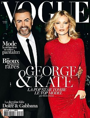 VOGUE PARIS Kate Moss,George Michael,Kendra Spears,Arizona Muse,Peter Lindbergh