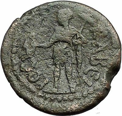 THESSALONICA in MACEDONIA 138AD Antoninus Pius Time GREEK Coin Kabeiros i55831