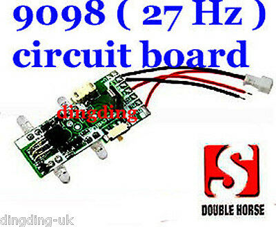 9098 radio remote control helicopter circuit board PCB  Double Horse UK