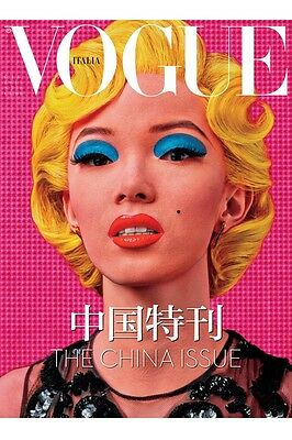 VOGUE ITALIA ITALY June 2015, Xiao Wen Jum,Steven Klein.Andy Warhol CHINA ISSUE