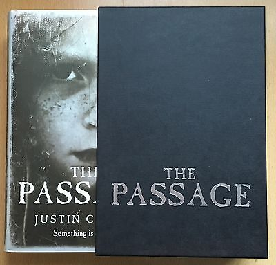 Justin Cronin The Passage LIMITED SLIPCASED HB 1/1 NUMBERED-DATED-SIGNED NEW