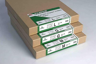 "Fuji Crystal Archive RA-4 12""x10"" Glossy Colour Paper 50 Sheets (AFC12G50)"