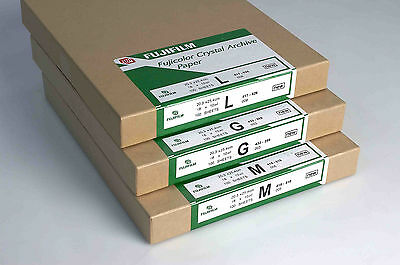 "Fuji Crystal Archive RA-4 12""x10"" LUSTRE Colour Paper 50 Sheets (AFC12L50)"