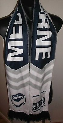 Melbourne Victory Silver Member 2012/13 Football Club Soccer A League Scarf