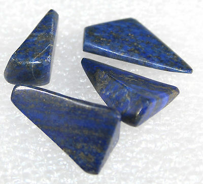Lapis Lazuli Tumbled Nuggets, 4 pieces for 15.1 gram 4PL-02