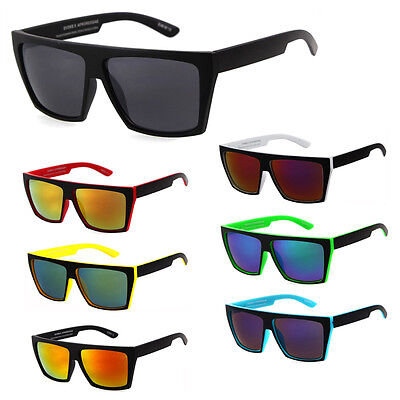 Square Frame Mens Mirror Sunglasses Outdoor Sports Driving Glasses Eyewear New