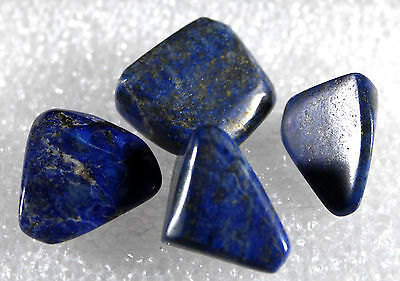 Lapis Lazuli Tumbled Nuggets, 4 pieces for 21.8 gram 4PL-26