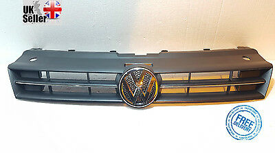 Front Grill With Chrome + Badge  Vw Polo Mk8 2009-2013 New