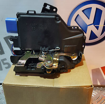 Front Left / Passenger Side Door Lock Mechanism For VW Golf Mk5 (2003-2009)