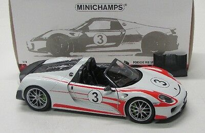Porsche 918 Spyder Weissach Package ( Salzburg 2013 ) No.3 / Minichamps 1:18