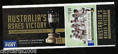 AUSTRALIA  The Urn Returns - 2013-14 Ashes Series CRICKET  Complete Booklet