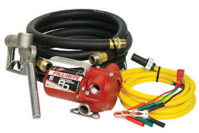 12V DC Portable Pump with Hose and Nozzle Fill-Rite RD812NH FIL