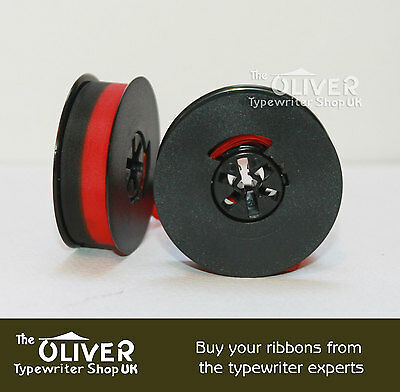 Underwood Golden Touch Typewriter Ribbon & Spool  (Black Or Black And Red)