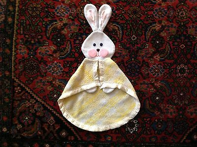 Fisher Price 1979 Yellow Bunny Security Blanket