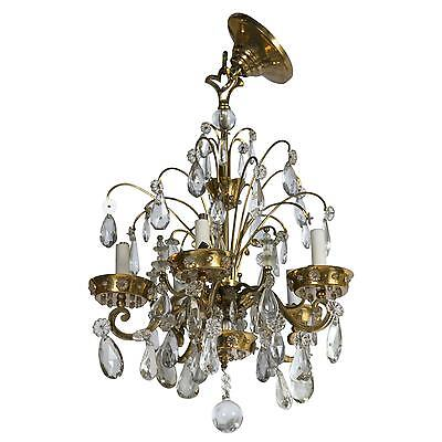 French Art Deco Chandelier by Maison Jansen 101-2328