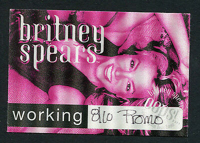 2000 Britney Spears Backstage Pass Oops! I Did It Again Tour Portland OR