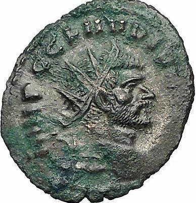 Claudius II Gothicus 268AD Ancient Roman Coin  Providentia  Forethought i55573