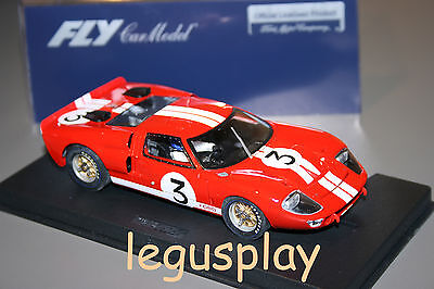 Slot car SCX Scalextric Fly 88091 Ford MKII 24H Le Mans 1966 A-762