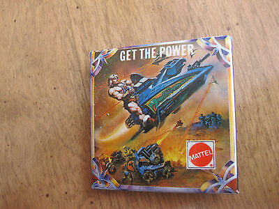 Vintage 1985 Mattel Promotional Button Get The Power Masters Of Universe