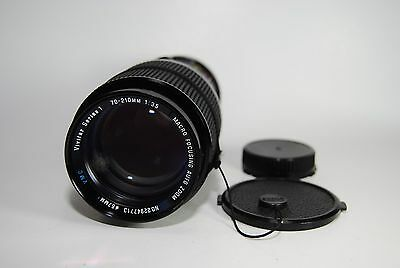 Vivitar Series 1 70-210mm f/3.5 Macro Focusing Zoom VMC Lens for Canon FD