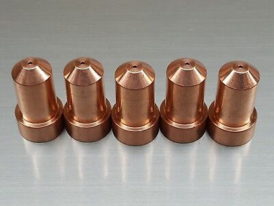 5 Pack - KP2844-3 Nozzles 50A for Lincoln Electric® Tomahawk® 1000 - LC65 Torch