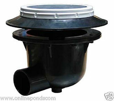 """Koitoilet I Aerated Bottom Drain For Koi Pond 3 Inch 3"""" With Air Diffuser"""