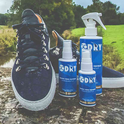 GoDRY® Shoe Footwear Protector Spray - Waterproof Stain Defense - 50ml