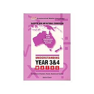 Understanding Year 3 & 4 Maths(latest NSW and National Curriculum recommendation