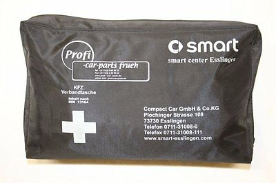 VERBANDTASCHE VERBANDSKASTEN SCHWARZ vom SMART CENTER ESSLINGEN