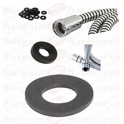 """1/2"""" 0.5 Shower Hose Head Rubber Washer Seal 2 5 10 20 50 100 Half Inch Plumbing"""
