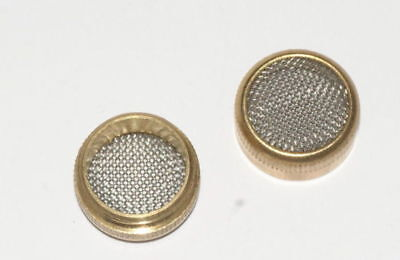 Small Brass basket parts holder screw type ultrasonic cleaning mesh container