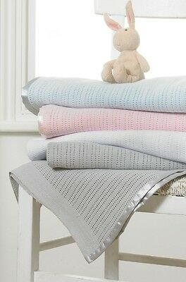 Great Knot 100% Combed Cotton  Woven  Kids Blanket