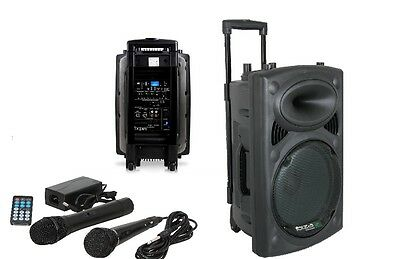 Ibiza PORT10 Lautsprecher Soundsystem mobile Beschallungsanlage PA Box Bluetooth