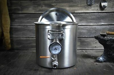 Anvil Brewing Equipment 5.5 gal Stainless Steel Brew Kettle with Thermometer