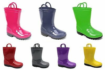 KIDS RAIN BOOTS- Skadoo- Toddler 5 to Big Kid 6 Girls or Boys WATERPROOF