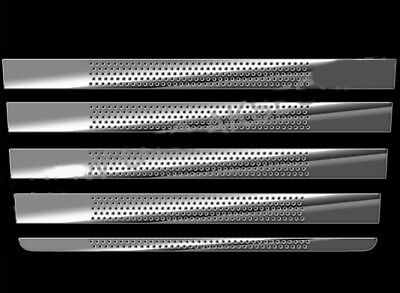 Scania 4 Series Cabin Decorations Rariator Grille Stainless Steel Set 5 Pieces