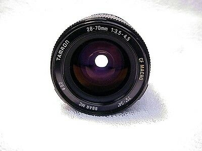 28-70mm f3.5-4.5 Tamron BBAR MC  | Smooth zoom | Clear Glass | Clean Coatings |