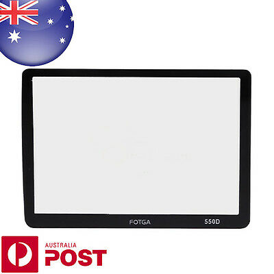 FOTGA Optical Glass Rigid LCD Screen Protector For Canon EOS 550D QUALITY-  C152