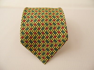 Pura Seta 100% Silk Tie Seta Cravatta Made In Italy  A4670
