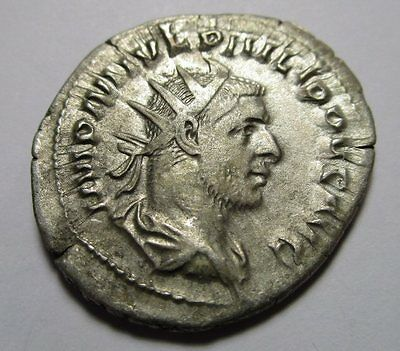 Imperial Rome - Philip 1 Silver Coin AD 244 - 249