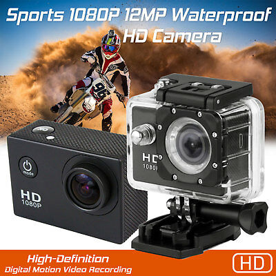 New HD 1080P SJ4000 Waterproof Sports Cam Action Full Video DVR Camera Black UK