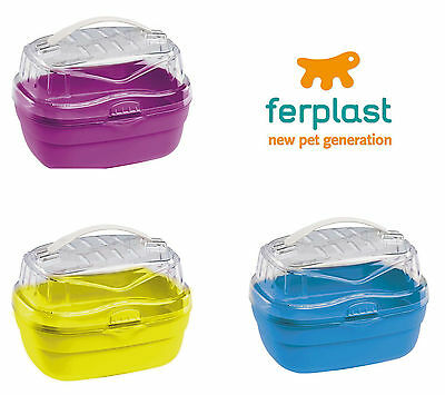 Ferplast Aladino - Hamster, Mouse & Gerbil carrier - Small - 3 colours