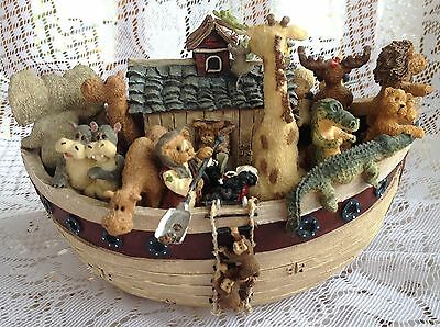"Boyds Bears MUSICAL Ark - ""Rain Rain Go Away"" (789)"