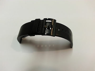New Original Motorola Black Genuine Leather Watch Band Replacement for Moto 360