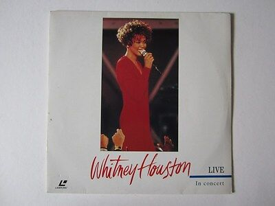 Laserdisc Whitney Houston Live In Concert Pal Rare / This Not A Dvd