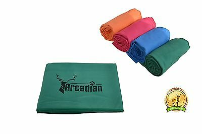 Large Microfibre Dog Towel, Super Absorbent, Light Weight & Compact.