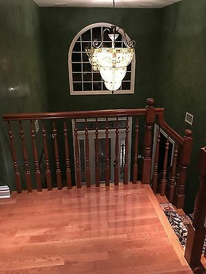 Oak spindles, posts, and handrails