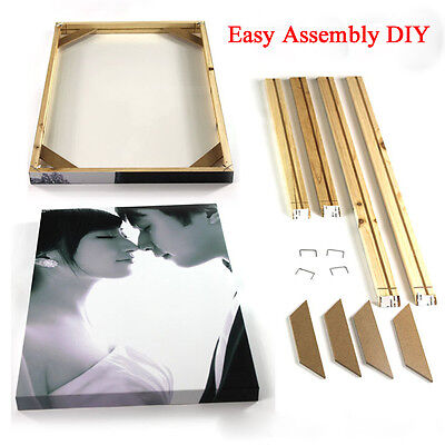 100% High Quality Wooden Frames Bars For Canvas Wall Art Frames For Paintings